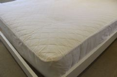 Quilted Polycotton Extra Deep 30cm Mattress Cover/Protector - UK Made